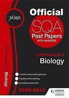SQA Past Papers Intermediate 2 Biology 2013