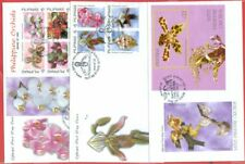 Philippines Topic ORCHID 3 diff FDC Cover Lot#8897