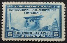U.S. Mint #650 5c Aeronautics, XF - Superb Jumbo. NH. A Gem!