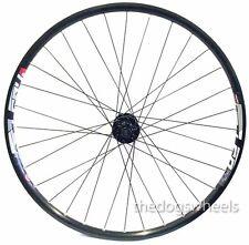 "27.5"" MTB Front Wheel 20mm Bolt Through Formula Hub Disc Brake Mach 1 24mm Rim"