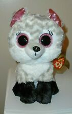 """Ty Beanie Boos ~ ELLIE the Wolf 8-9"""" (Great Wolf Lodge Exclusive) 2019 NEW"""