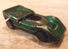 Redline Hotwheels Green 1968 McLaren M6A  - Good Condition