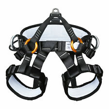Climbing Half Body Harness Safe Seat Belt for Mountaineering Rescue Caving Rock