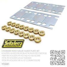 YELLA TERRA GUIDE PLATES 4.2L & 5.0L V8 MOTOR [HOLDEN VB-VC-VH-VK-VL COMMODORE]