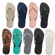 Havaianas Slim Damen-Zehentrenner Flip Schlappen Flops Sandalen Slipper Schuhe