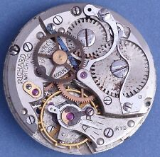 Phenix 130-Stop 40s Vtg Chronograph Stop Watch Mvt Good Bal Staff Parts/Repairs