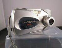 Silver OLYMPUS CAMEDIA C-450 Zoom Digital Camera Boxed, Instructions & Card