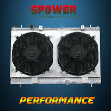2-Row/CORE Aluminum Radiator+Fan Shroud For Dodge Neon SRT-4 L4 2.4L MT 03-05