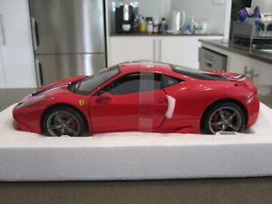 1:18 HOT WHEELS ELITE FERRARI 458 SPECIALE RED *NEW* LAST ONE!