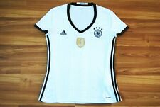WOMENS LARGE GERMANY NATIONAL TEAM EURO 2016 HOME FOOTBALL SHIRT JERSEY TRIKOT