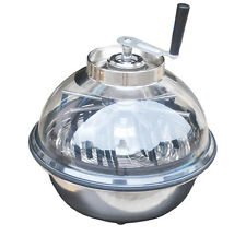 "Ultra Spin Pro & Tumble Leaf Trimmer Cutter Bowl 16"" Hydroponics Stainless Plant"