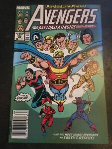Avengers#302 Incredible Condition 9.2(1989) Quasar,Vs Super Nova!!