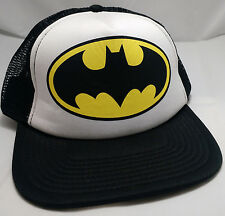 BATMAN DC COMICS trucker snapback hat cap adjustable dark knight bat signal