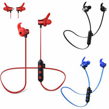 Earphone Headset Waterproof Magnetic Attraction Bluetooth  w/ Micro SD Card Slot
