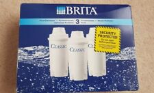 brita classic water filter cartridges ×3