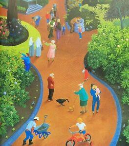 1998 Sydney Royal Botanic Gardens, An Artist's View w 64 COL PLATES FREE POST