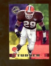 1995 Stadium Club ERIC TURNER Cleveland Browns Members Only Card