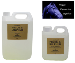 Pig Oil and Sulphur Gold Label Horse and Pony Mud Fever various sizes