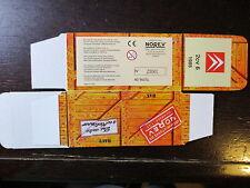 BOITE VIDE NOREV  CITROEN 2CV 6 1985  EMPTY BOX CAJA VACCIA