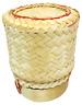 1/3/6/12 PCS Lot Small Sticky Rice Bamboo Serving Basket Kratip Thai Restaurant