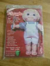 "Vintage McNeill McSnuggles 16"" Doll and Clothes Kit New Unopened Package"