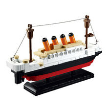 New DIY Plastic Titanic Ship Small Building Blocks Kids Model Toys Gift for