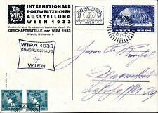 Österreich Mi. 555A, WIPA Ausstellungs-Postkarte, tadellos (400,-€) (694/31)