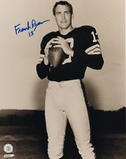 FRANK RYAN CLEVELAND BROWNS SIGNED 8x10 (8-4) (OSG COA)