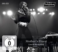 MOTHER'S FINEST - LIVE AT ROCKPALAST +DVD 2 CD+DVD NEU