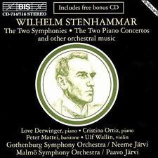 Stenhammar: Symphonies; Piano Concertos, etc. (CD, 1994, 4 Discs, BIS CD714/716)