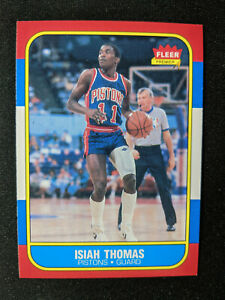1986-87 Fleer Isiah Thomas Rookie