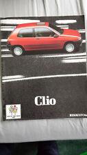 Renault Clio FOLLETO Feb 1991 Prestige
