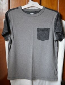 Gymboree Youth shirt/size Large(10-12) Gray/2 tone with small pocket