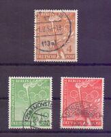 Berlin 1952 - Vor-Olympiade - MiNr. 88/90 rund gestempelt - Michel 45,00 € (235)