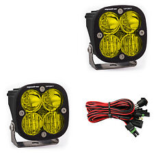 LED Light Pods Amber Lens Driving/Combo Pair Squadron Sport Baja Designs