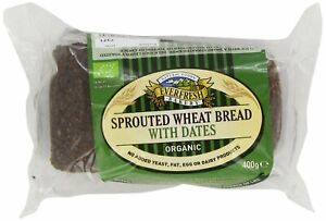 Organic Sprouted Wheat Date Bread YF SF NAS - 400g