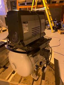 Jun Air Dental Air Compressor oil free dry air package OF1202-40BD3