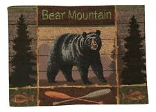Lodge Bear Mountain Tapestry Placemats Set of 4
