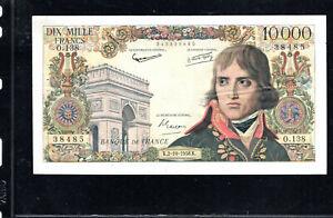 Billet 10000 Francs Bonaparte 02/10/58 TTB Fay 51-13
