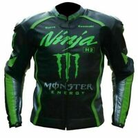 New Ninja Motorbike Motorcycle Racing Leather jacket LD-444-86-2021( US 38-48 )