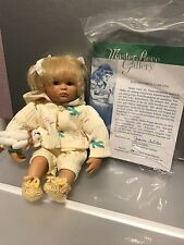 Gabriele Müller Porzellan Puppe Susi 22,5 cm. Top Zustand