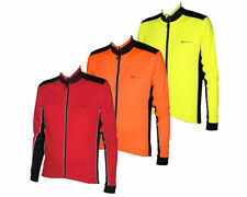 Men Long Sleeve Polyester Cycling Jerseys