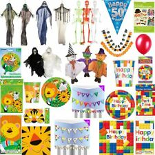 Halloween Fancy Dress Party Picnic Birthday Decoration Tablewear Accessories