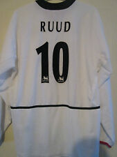 Manchester United 2002-2003 Away Ruud 10 Football Shirt Extra Large Adult /39408