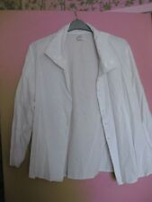 White blouse shirt top Etam size 22