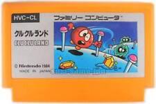 "NINTENDO FAMICOM "" CLU CLU LAND "" FAMILY COMPUTER NES FC JAPAN"