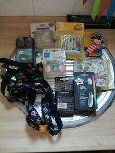 BN CHEAP JOB LOT OF MIXED BABY/CHILD ITEMS SPOONS/DUMMIES/SAFTY ITEMS/THERMOSTAT