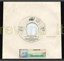 """Mecano """"Figlio della Luna"""" Italy 1989 1-track w/label 7"""" 45rpm PROMO TITLE slv"""