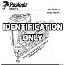 Paslode IM250A - IM250S Seal Ring Set Part No 900612 Free AUSTRALIA Post