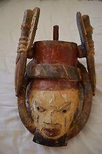 Yoruba Gelede Mask Nigeria Arab Slave Trader Ex-Museum